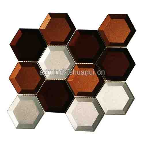 Rustic Panel Wood Mosaic factory   HG-WT001