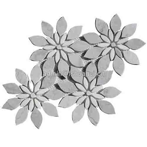 精致花纹图案艺术瓷砖大理石马赛克