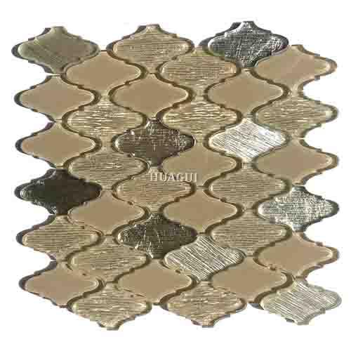 独特阿拉伯式玻璃马赛克墙砖创意