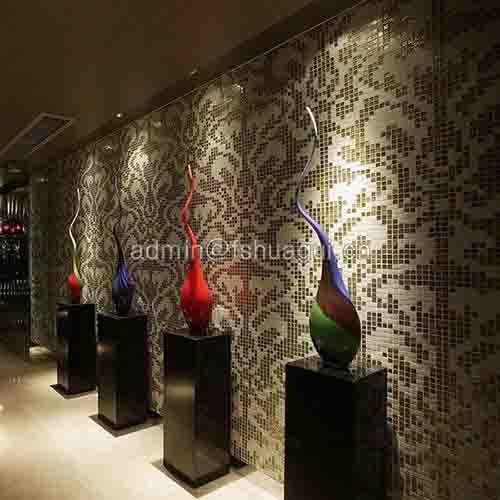 Hotel backsplash mosaic