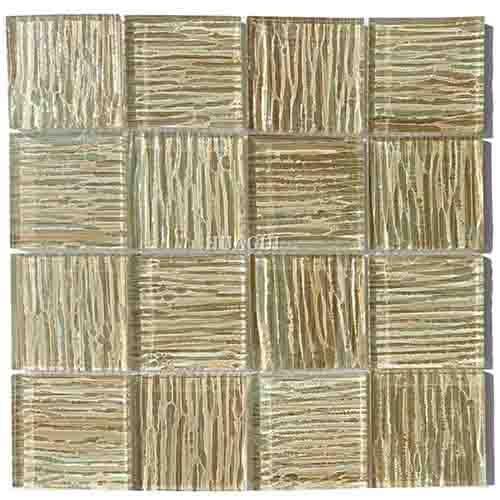 与亚马逊豪华艺术设计玻璃马赛克瓷砖合作