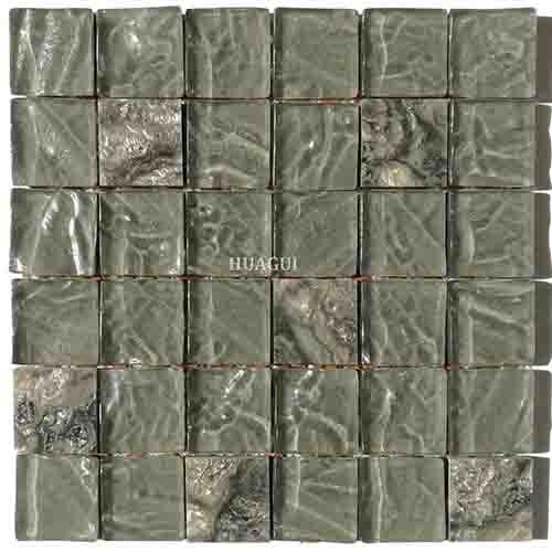 现代装饰视景玻璃马赛克墙砖厨房背墙出售