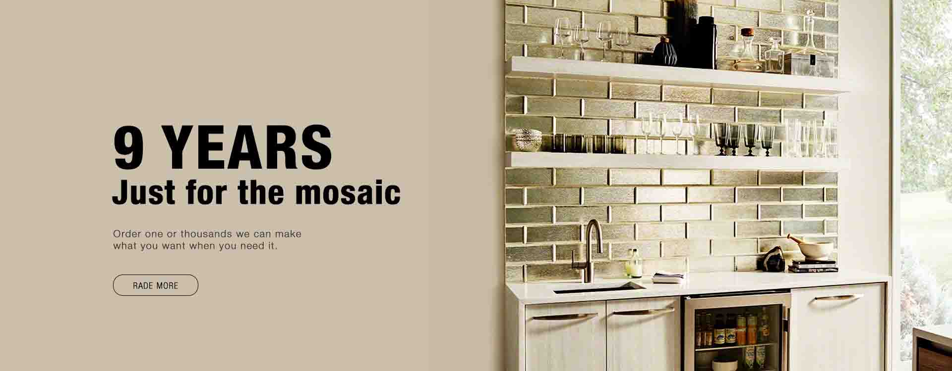 Visit Huagui Mosaic at  Coverings 2019 Orlando, Florida .