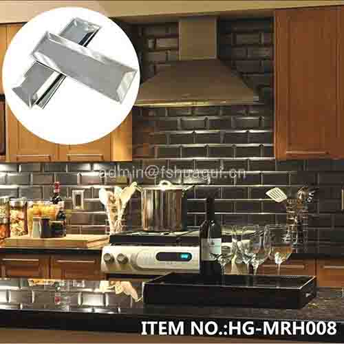 HG-MRH008 Silver Mirror Decor Tile