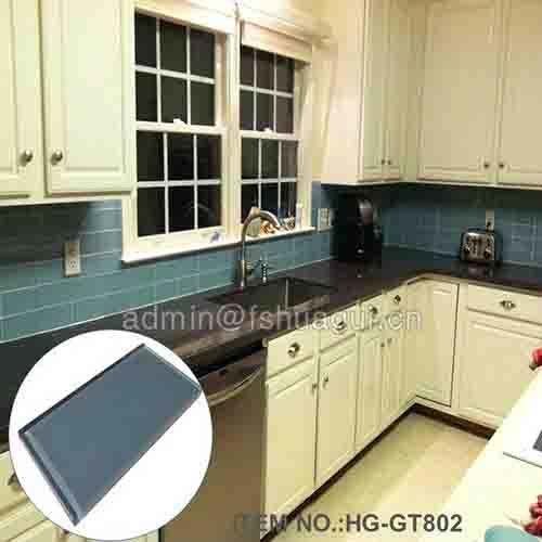 HG-GT802 Glass kitchen tile