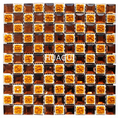 Wholesale cheap glass mosaic mirror wall tiles glass mosaic for wall decoration