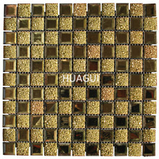 Diamond mirror crystal glass silver diamond wall tile backsplash mosaic
