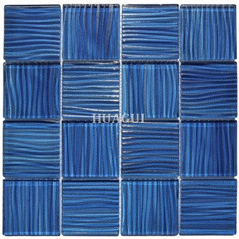 Amalfi blue wave Artistry in Mosaics Mirage Series tile