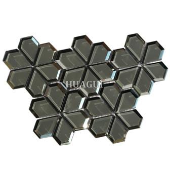 Glass Mosaic Tile Flower Pattern for Wall Backsplash Home Decoration Merola Tile supplier
