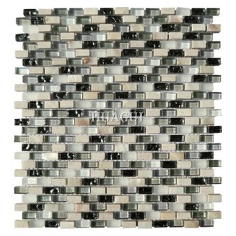 Glass mosaic pearl apoymos oyster tile Julian tile supplier